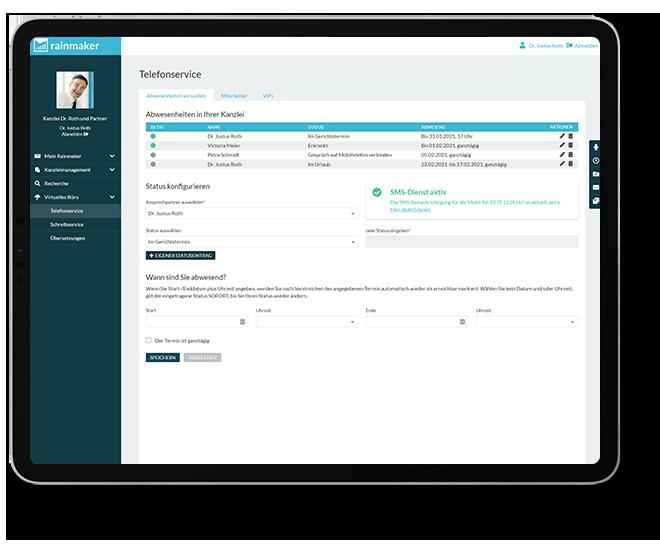 Virtuelles Büro - Telefonservice